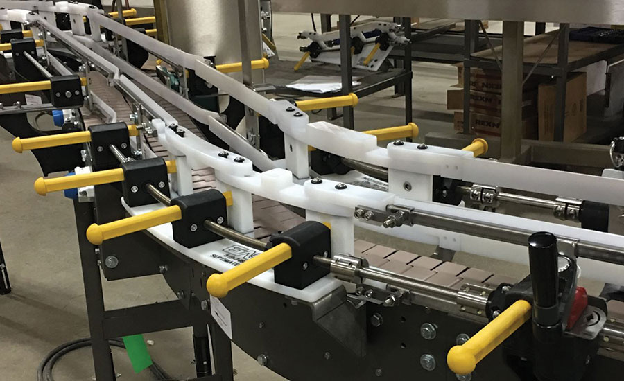 Reduce Guide Rail Changeover with Easy Adjustable Rails