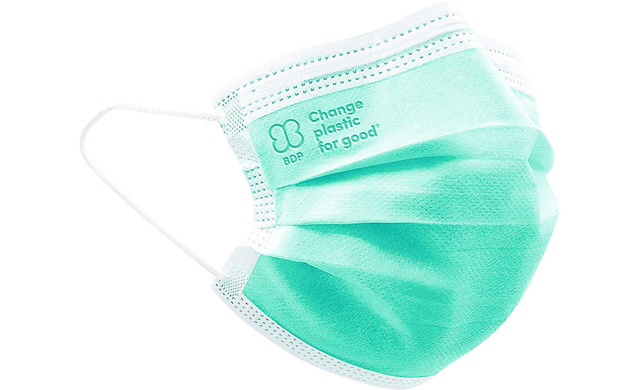 Biodegradable Plastic Mask