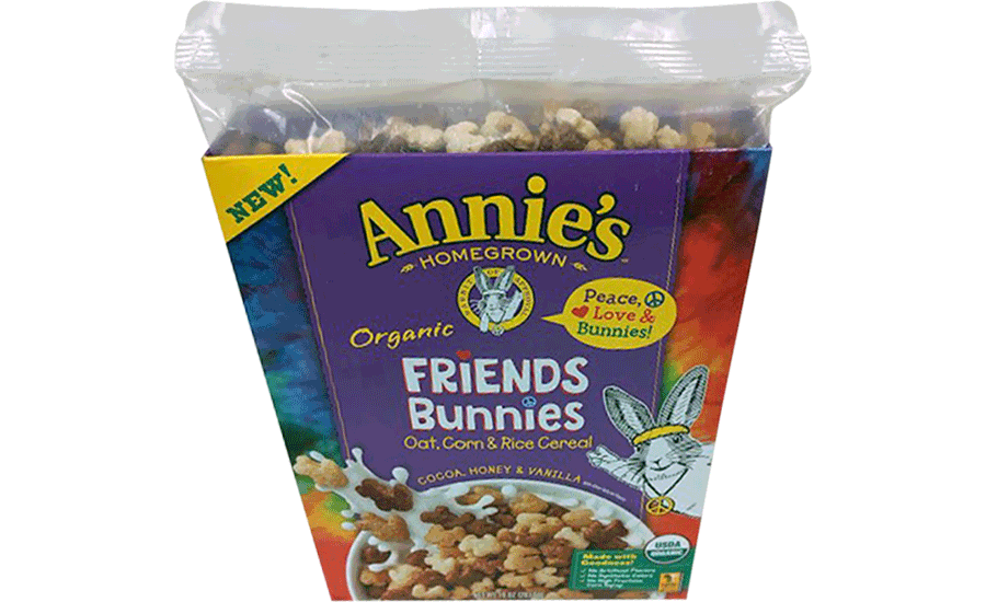 Annie's Homegrown cereal liner
