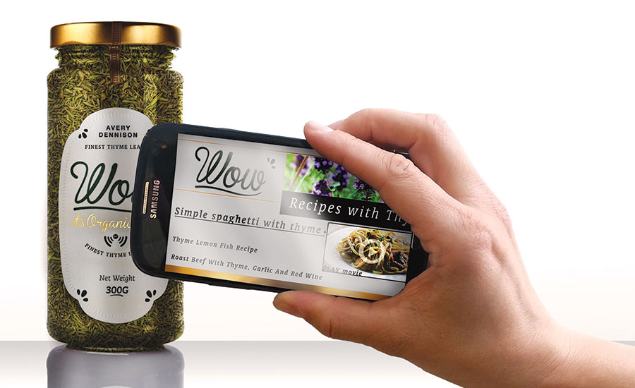 NFC technology on labels can helps brands communicate with the customer after purchase