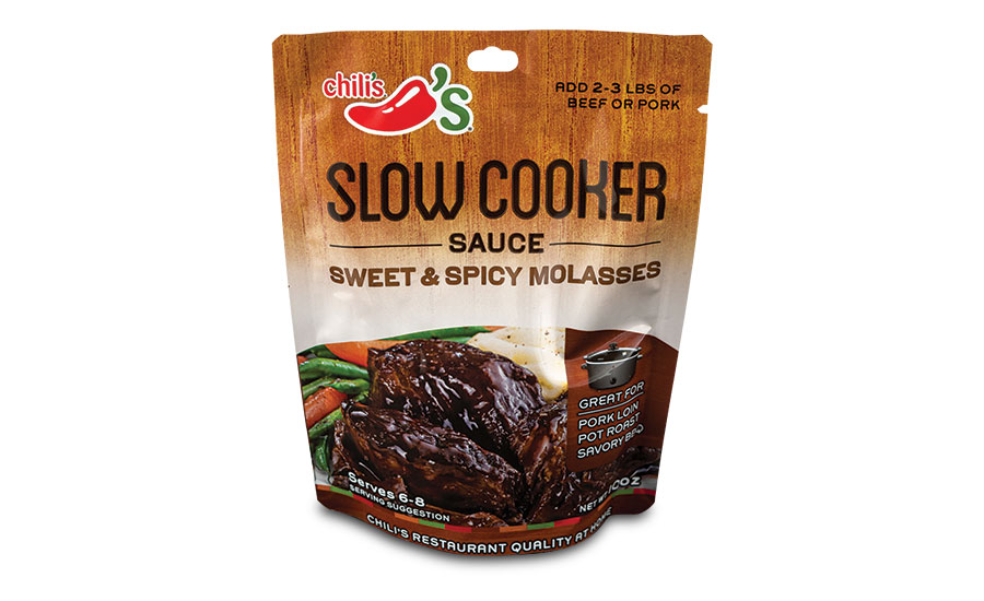 Printpack's Chili's Slow Cooker and Skillet Sauces