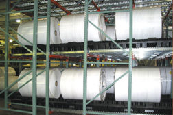 High Density FIFO Roll Flow Racks
