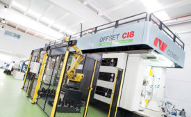 Comexi OFFSET C18 works with EB technology