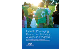 FPA, Flexible Packaging Association Resource Recovery: A Work-in-Progress brochure