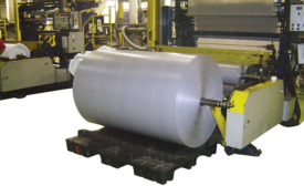 Specialized cradle-style roll pallet