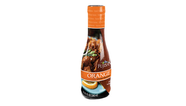 orange chicken marinade bottle