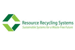 Resource recycling services logo
