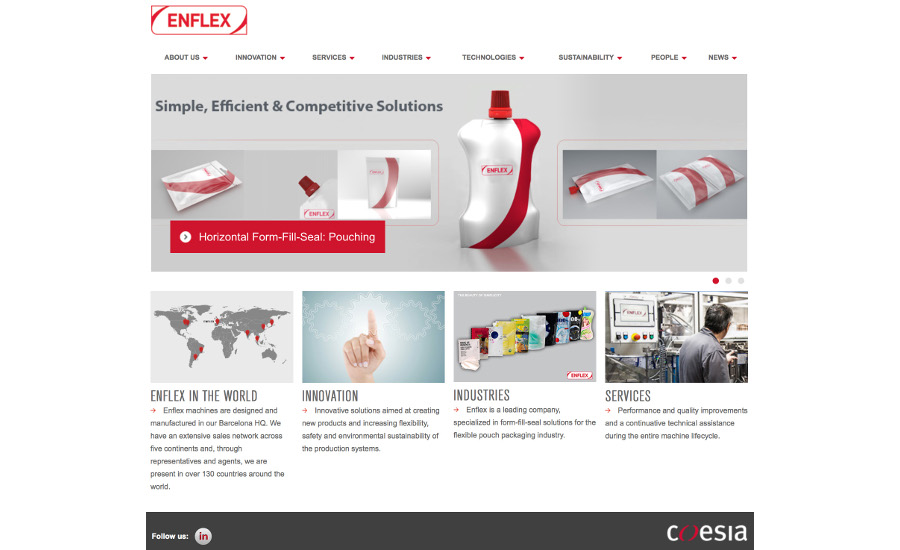 Enflex website