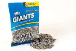 Giants debuts resealable pack for sunflower seeds