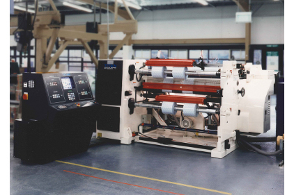 Titan slitter rewinder feature
