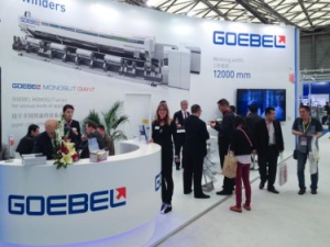 Goebel at Chinaplas 2014