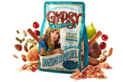 GypsyCrunch reclosable food packaging