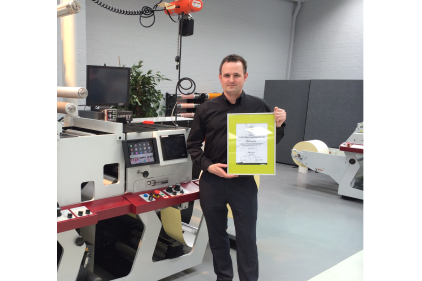 Mark Andy gains Full HD Flexo Certification feature