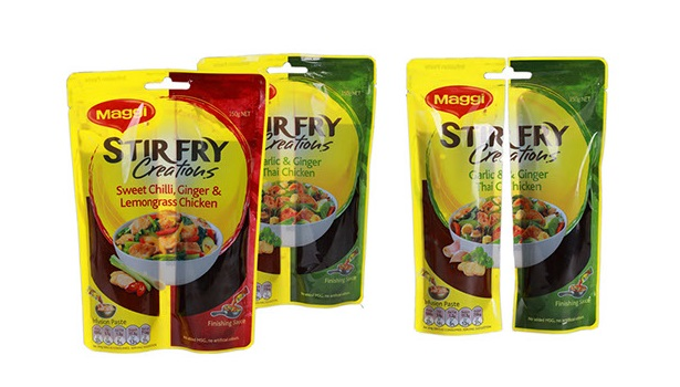Separable pouch for marinades - 2014 DuPont Packaging Awards