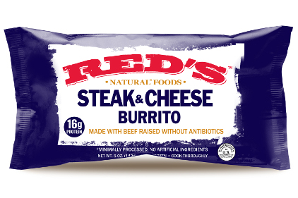Burrito snack new package design feature