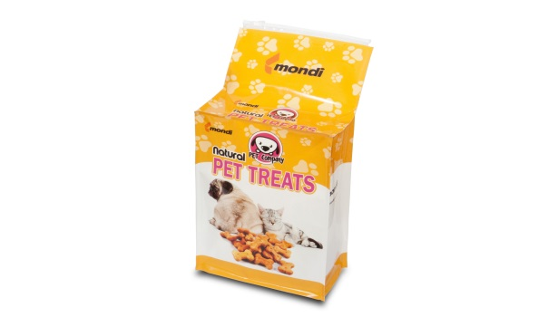 Mondi Group square bag pet treats