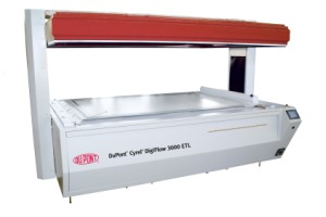 DuPont Cyrel flexographic printing system