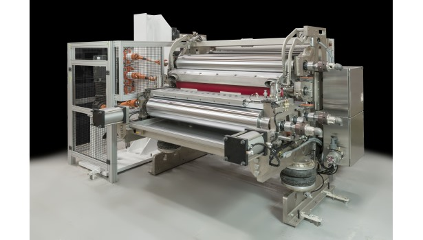 Davis-Standard five-roller coater at ICE USA 2015