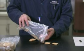 Low-tack adhesive packaging innovation