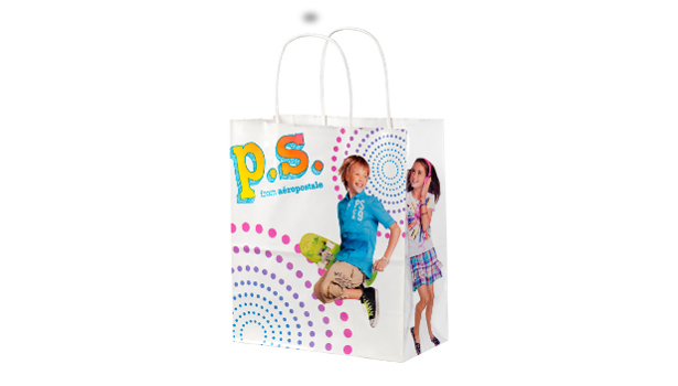 Ampac's Aeropostale shopping bag