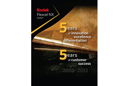 Kodak Flexcel NX System flexographic feature