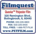 Filmquest- Questar Polyester Film