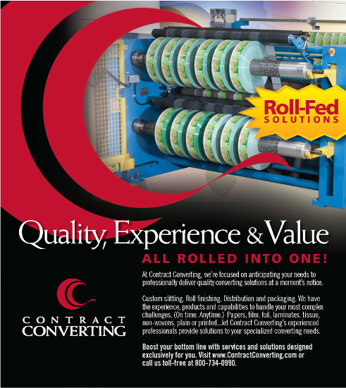 Quality, Experience & Value: All rolled into one! - Contract Converting