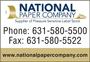 NATIONAL PAPER COMPANY
