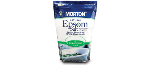 Morton Scented Epsom Salt Stand Up Pouch from Coveris
