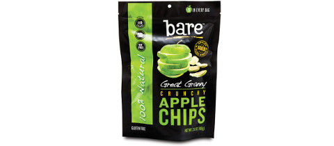 3.8oz Natural Great Granny Crunchy Apple Chips from American Packaging Corporation
