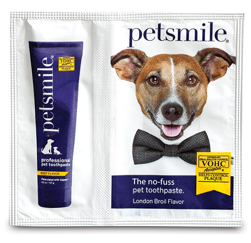 Petsmile Pet Toothpaste from Glenroy, Inc.