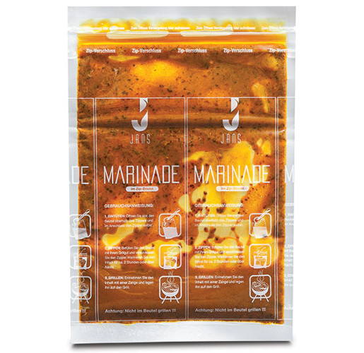 AMPAC Marinade Pouch / JANS Marinade Pouch from Ampac
