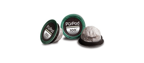 Club Coffee Fully Compostable Purpod 100 Cups from Glenpak, LLC