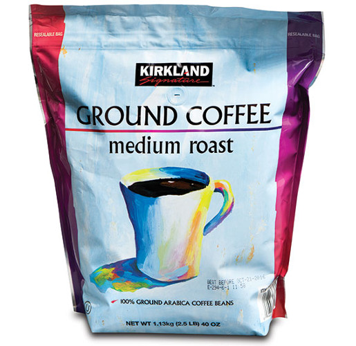 Kirkland Signature Ground Coffee from Plastic Packaging Technologies