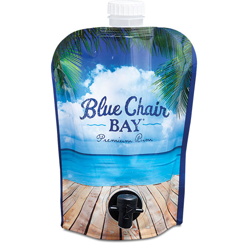 Blue Chair Bay Dual Fitment Pouch by Glenroy, Inc.
