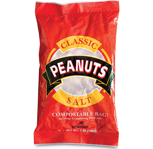 Compostable Peanut Bag by TC Transcontinental Packaging