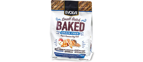 Evolve Baked Dog Food by TC Transcontinental Packaging