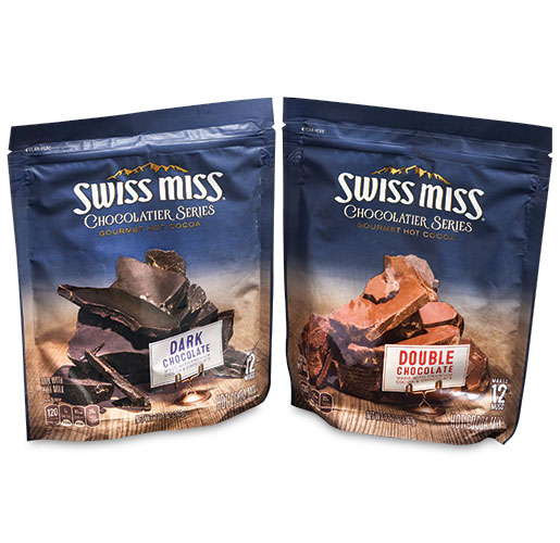 Swiss Miss Chocolatier Series by American Packaging Corp.