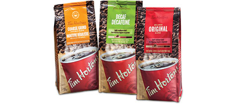 Tim Hortons® Cross-Seal® Flexible Bag by Sonoco Flexible Packaging