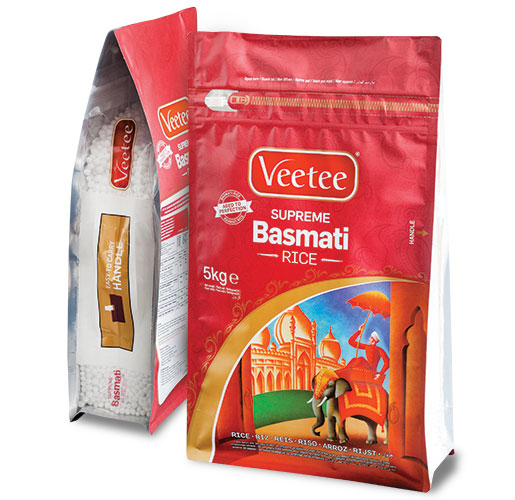 Veetee Recloseable Bulk Bag with Handle by Flex Films (USA) Inc.