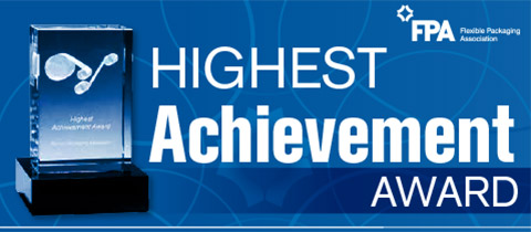 FPA Flexible Packaging Achievement Awards Highest Achievement