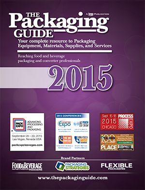 The Packaging Guide 2015 Cover